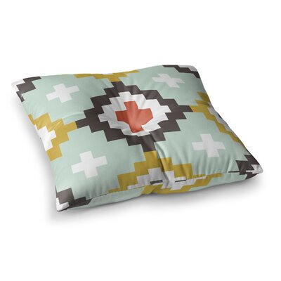 Moroccan Diamonds by Pellerina Design Floor Pillow Size: 26 x 26