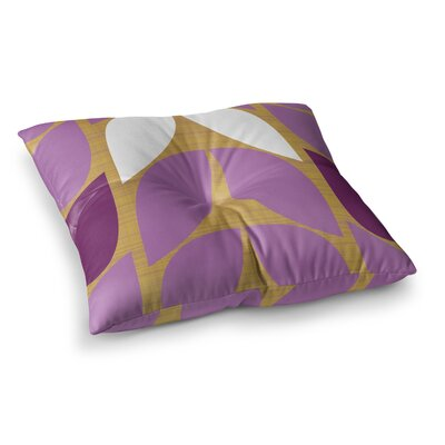 Orchid Petals by Pellerina Design Floor Pillow Size: 23 x 23