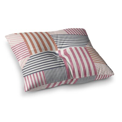 Mod Linework Geometric by Pellerina Design Floor Pillow Size: 23 x 23