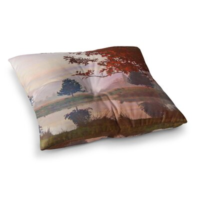 Magic Morning Nature by Pellerina Design Floor Pillow Size: 26