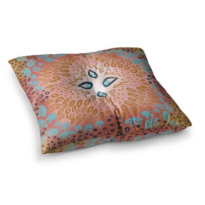 Bohemian Tapestry Watercolor by Pellerina Design Floor Pillow Size: 26 x 26