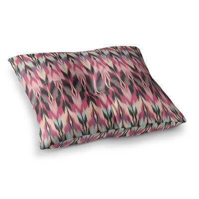Dreamhaze Tribal by Amanda Lane Floor Pillow Size: 26 x 26