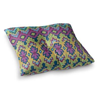 Boho Chic by Amanda Lane Floor Pillow Size: 26 x 26