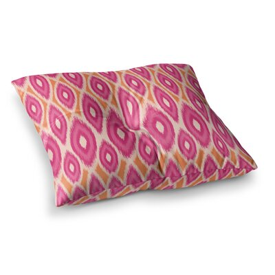 Moroccan by Amanda Lane Floor Pillow Size: 23 x 23