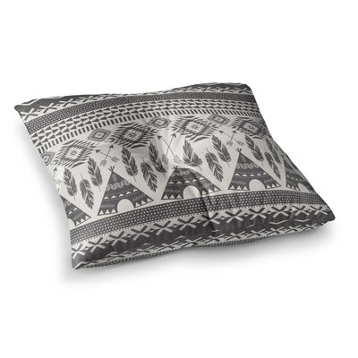 Native Roots by Amanda Lane Floor Pillow Size: 26 x 26