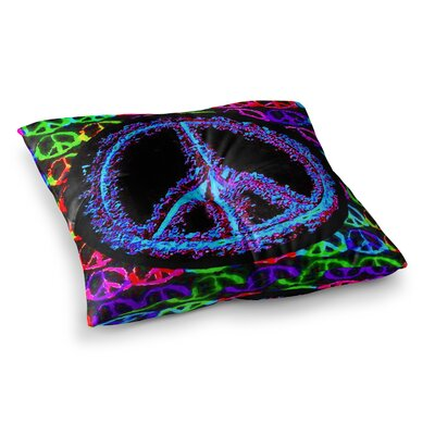 Heavenly Peace Digital by Anne LaBrie Floor Pillow Size: 23 x 23