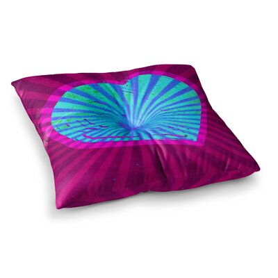 Love Light Modern by Anne LaBrie Floor Pillow Size: 26 x 26