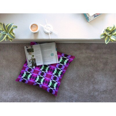 High Vibrations by Anne LaBrie Floor Pillow Size: 26 x 26