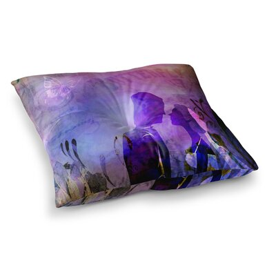 Couple in Love by Alyzen Moonshadow Floor Pillow Size: 26 x 26