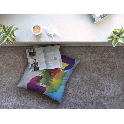 Hidden Face by Alyzen Moonshadow Floor Pillow Size: 23 x 23