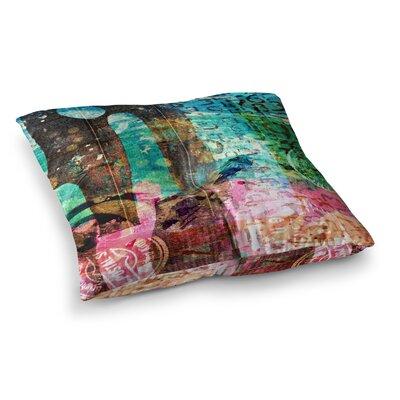 Abstract by Alyzen Moonshadow Floor Pillow Size: 26 x 26