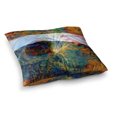Discover 3 by Alyzen Moonshadow Floor Pillow Size: 23 x 23