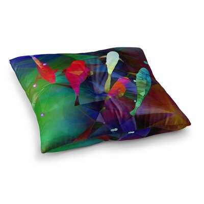 Fish 2 by Alyzen Moonshadow Floor Pillow Size: 23 x 23