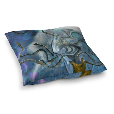Wonky by Alyzen Moonshadow Floor Pillow Size: 26 x 26