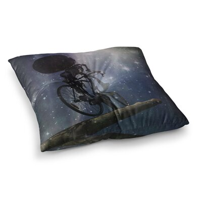 No Rest for the Wicked Galactic by Alyzen Moonshadow Floor Pillow Size: 26 x 26