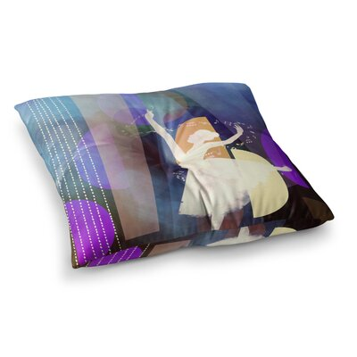 Ballet Geometric by Alyzen Moonshadow Floor Pillow Size: 23 x 23