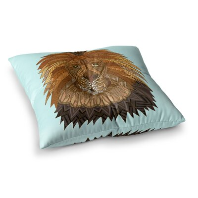 Lion by Art Love Passion Floor Pillow Size: 26 x 26