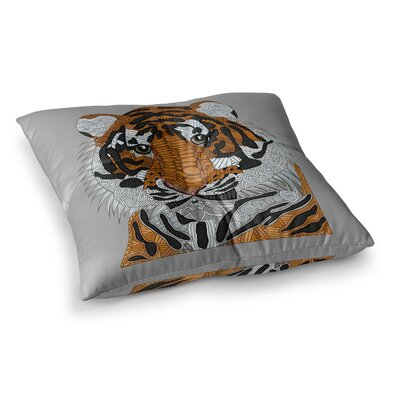 Tiger by Art Love Passion Floor Pillow Size: 23 x 23
