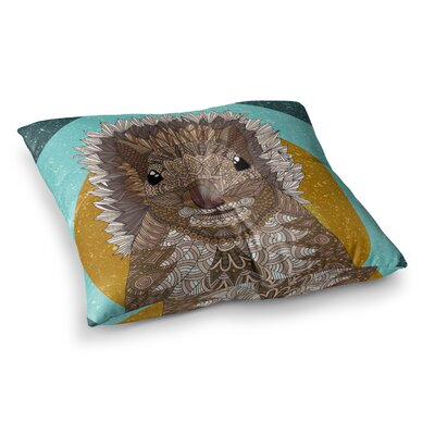 Squirrel by Art Love Passion Floor Pillow Size: 23 x 23