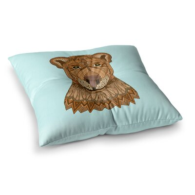 Lioness by Art Love Passion Floor Pillow Size: 23 x 23