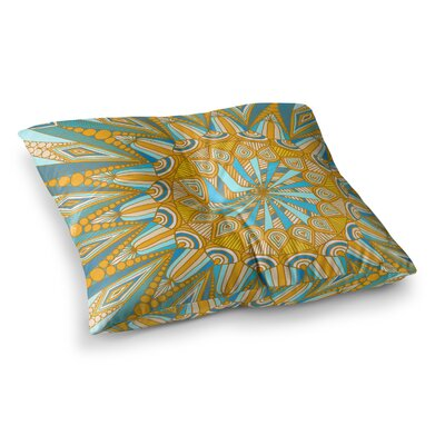 Here Comes the Sun by Art Love Passion Floor Pillow Size: 26 x 26