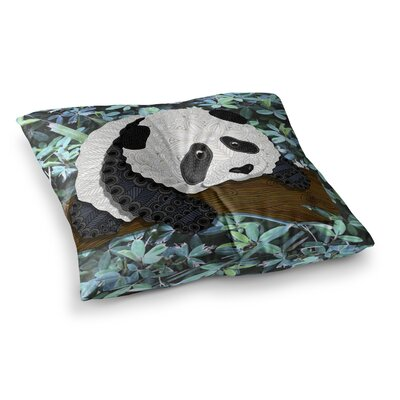 Panda by Art Love Passion Floor Pillow Size: 26 x 26