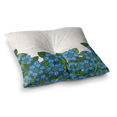 Flower Field by Art Love Passion Floor Pillow Size: 23