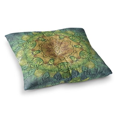 Celtic Flower Geometric by Art Love Passion Floor Pillow Size: 26 x 26