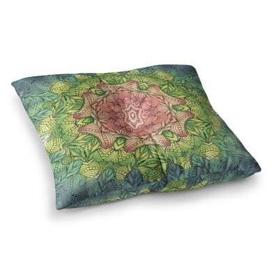 Celtic Flower by Art Love Passion Floor Pillow Size: 26 x 26