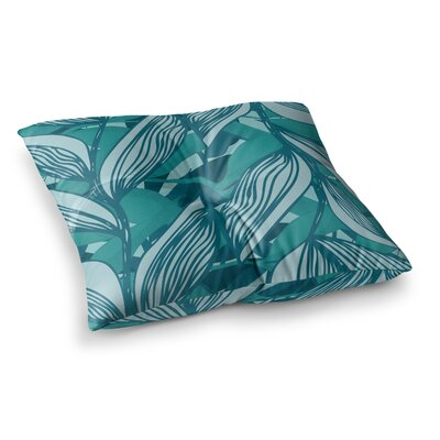 Algae by Anchobee Floor Pillow Size: 23 x 23