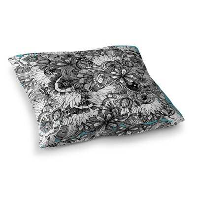 Blumen by Anchobee Floor Pillow Size: 26 x 26
