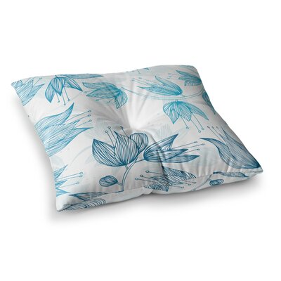 Biru Dream by Anchobee Floor Pillow Size: 23 x 23