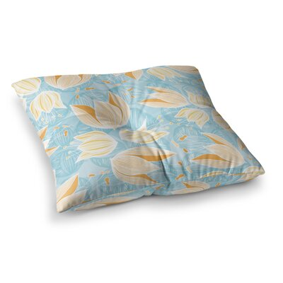 Giallo by Anchobee Floor Pillow Size: 23 x 23