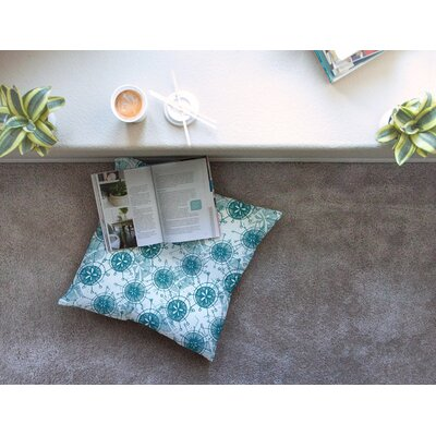 Satellite by Anchobee Floor Pillow Size: 26 x 26
