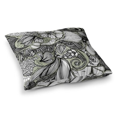 Doodle Dos by Anchobee Floor Pillow Size: 26 x 26