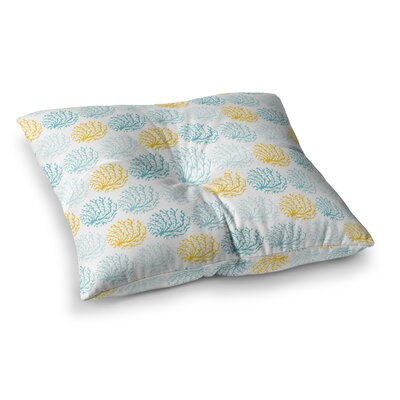 Coralina by Anchobee Floor Pillow Size: 26 x 26