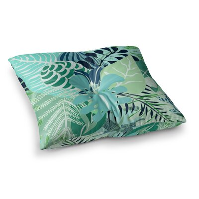 Giungla Floral by Anchobee Floor Pillow Size: 26 x 26