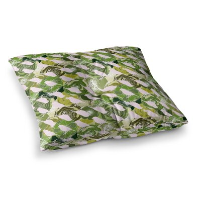Aisha Pattern by Anchobee Floor Pillow Size: 23 x 23