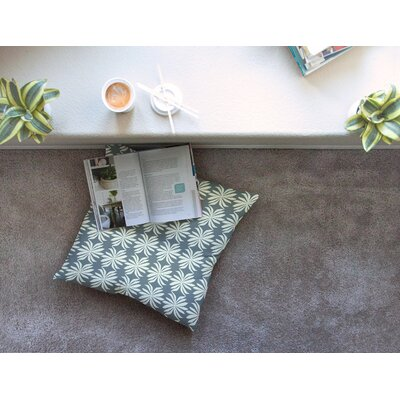 Palm Pattern by Amy Reber Floor Pillow Size: 26 x 26