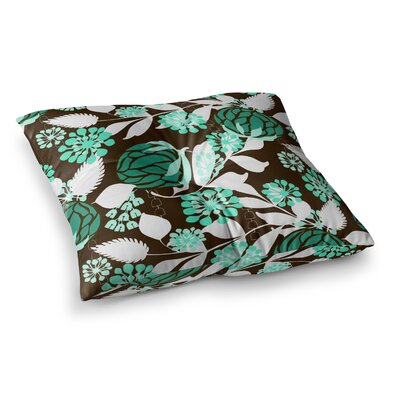 Bold Relief by Amy Reber Floor Pillow Size: 26 x 26