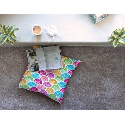 Rina by Anneline Sophia Floor Pillow Size: 23 x 23