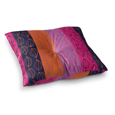 Tropical Seeds by Anneline Sophia Floor Pillow Size: 23