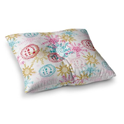 Let it Snow by Anneline Sophia Floor Pillow Size: 26 x 26