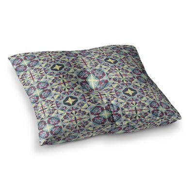 Curiousity by Allison Soupcoff Floor Pillow Size: 26 x 26
