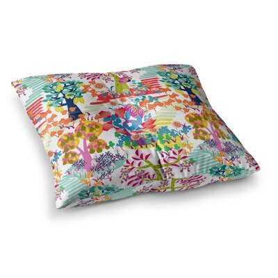 Fruit of the Earth Nature by Agnes Schugardt Floor Pillow Size: 23 x 23