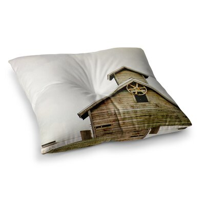 Barn Top Wooden by Angie Turner Floor Pillow Size: 26 x 26