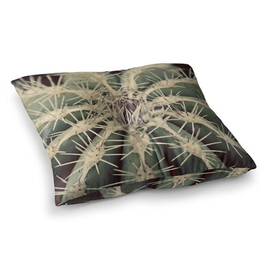 Cactus Plant by Angie Turner Floor Pillow Size: 26 x 26