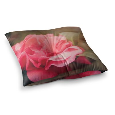 Camelia Flower by Angie Turner Floor Pillow Size: 26 x 26