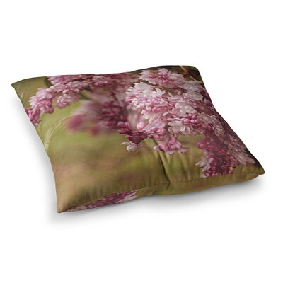 Flower by Angie Turner Floor Pillow Size: 23 x 23