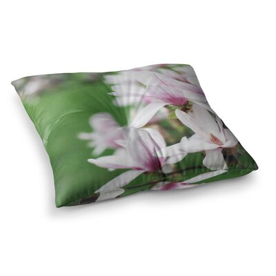 Magnolias by Angie Turner Floor Pillow Size: 23 x 23